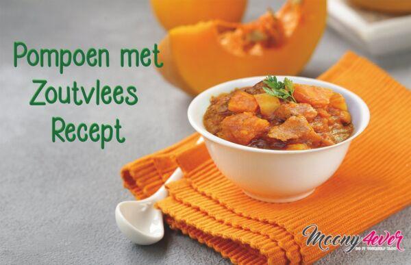 Pompoen met Zoutvlees Recept